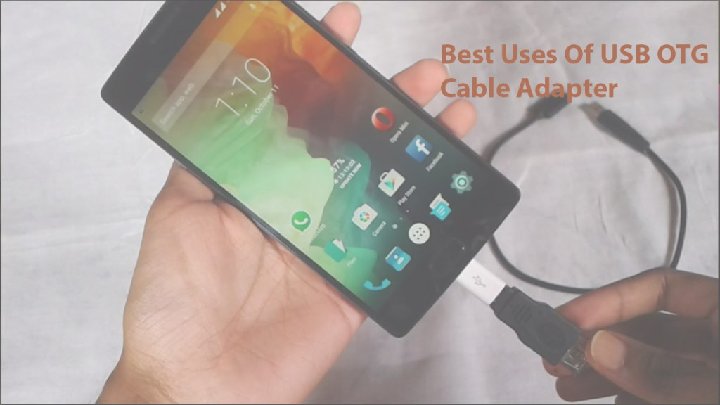 USB OTG Cable Adapter