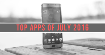 android apps july