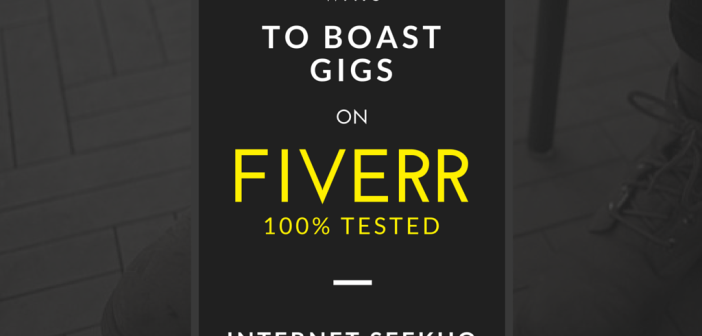 Burning Tips To Boost Your GIGS ON Fiverr