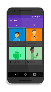 How To Make Material Design Avatar on Android