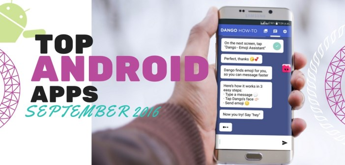 Top Android Apps September 2016