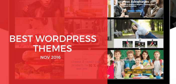 Best Free WordPress Themes for November 2016