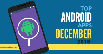 android apps December 2016