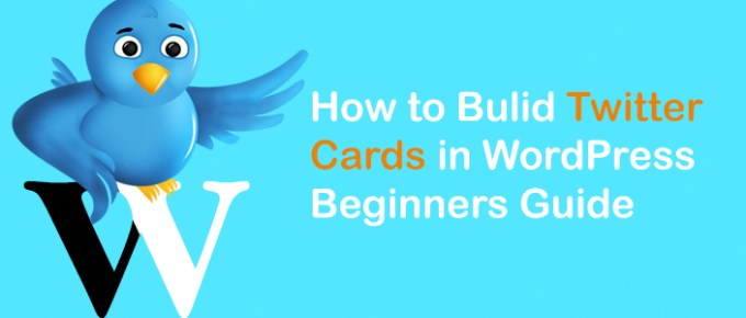 Bulid Twitter Cards