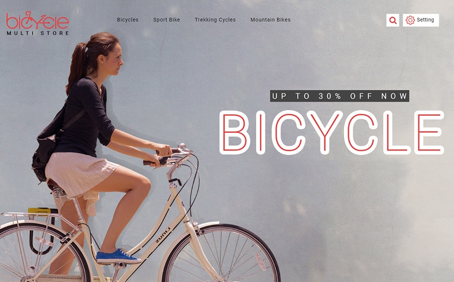 Bicycle - Modern MultiStore PrestaShop Theme