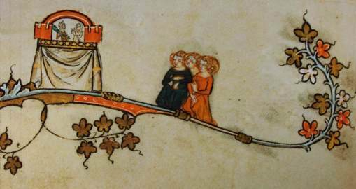 Medieval Puppet Show