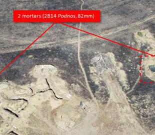 РФ грубо порушує умови перемир'я: в 2 км від лінії зіткнення зафіксовані міномети