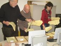 Sortierung der Stimmzettel