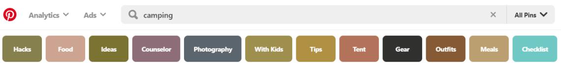 pinterest-keywords