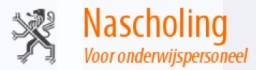 Nascholing voor onderwijspersoneel logo