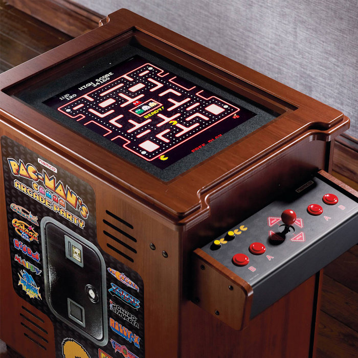 PacMan Party Cocktail Home Arcade Game Machine  Internet