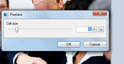 broj piksela Kako zamagliti lice na slici pomoću Paint.NET?