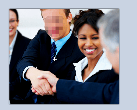 zamagljeni deo slike Kako zamagliti lice na slici pomoću Paint.NET?