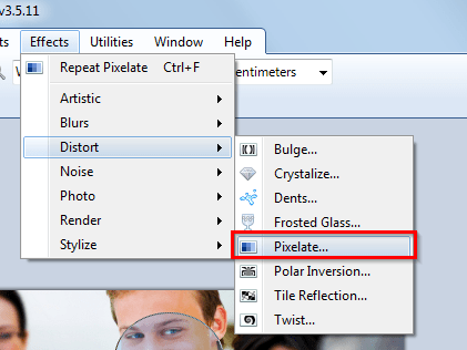 zamraciti sliku Kako zamagliti lice na slici pomoću Paint.NET?
