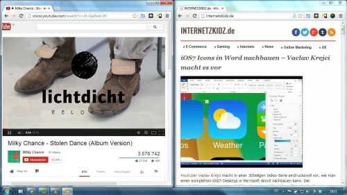 Windowstaste recht links