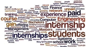 What are some interesting internship stories at IITs?