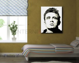 stampa su tela- james dean