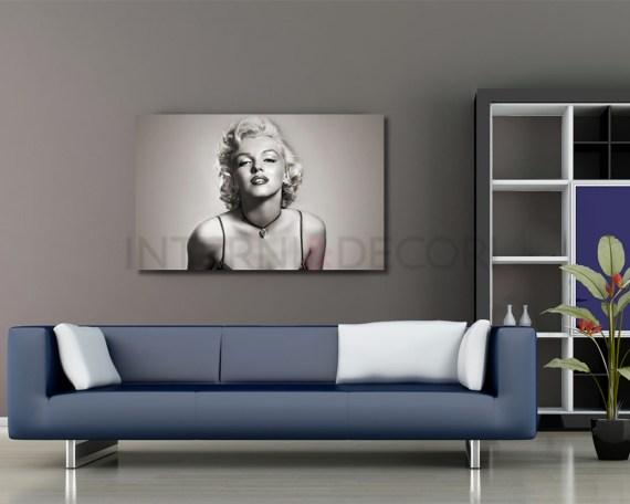 Stampa su tela - Sensuale Marilyn