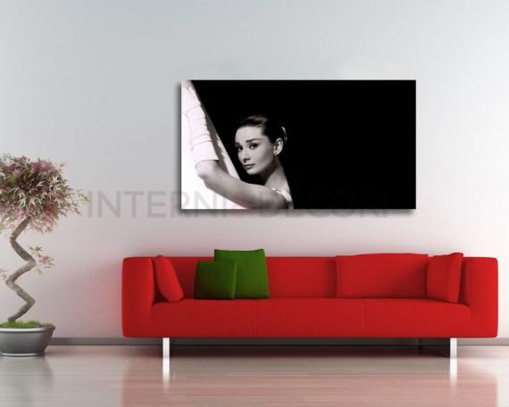 Stampa su tela-Classic Audrey