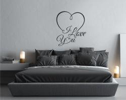 Adesivo murale-I love you