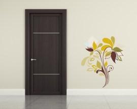 adesivo murale-floreale d'autunno