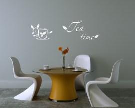 adesivo murale-tea time