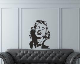 Adesivo murale-splendida Marilyn