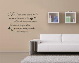 Adesivo murale-Walt Whitman-tra il clamore della folla