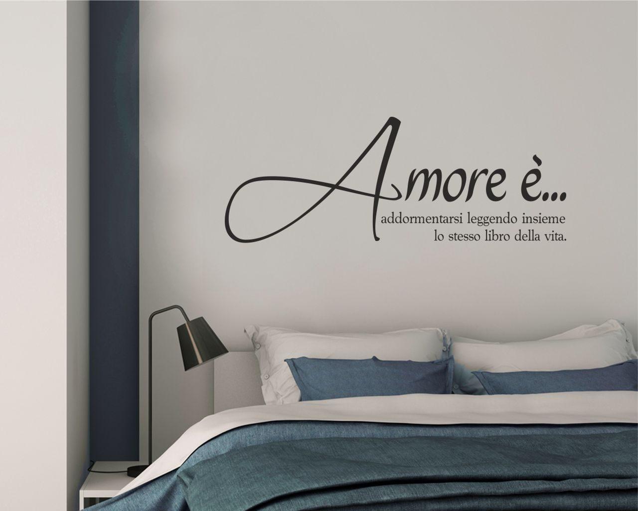 Adesivi Murali Vasco Rossi.Frasi Vasco Rossi Amore