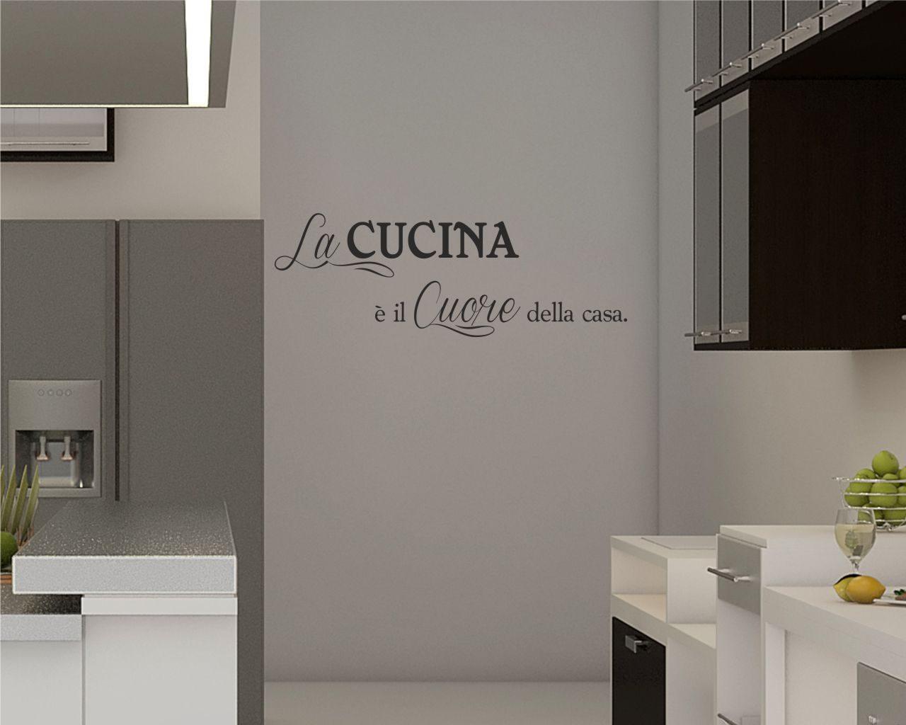 IL CUORE DELLA CASA  Food  Adesivo murale