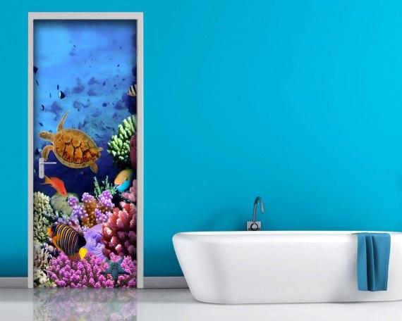 Adesivo per porte-pesci e coralli
