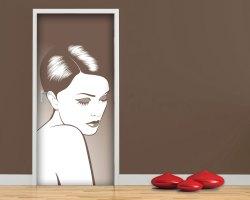 Adesivo per porte-bellezza silenziosa