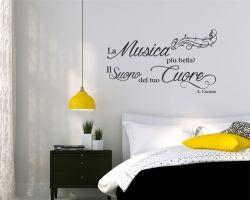Adesivo murale-Antonio Cuomo-Il suono del tuo cuore