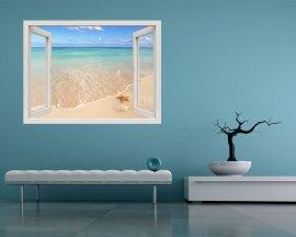 Finestra adesiva-affacciati sul mare