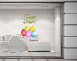 Vetrofania-uova di Pasqua