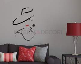 Adesivo da parete-bellezza classica-adesivo murale