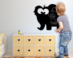 Lavagna adesiva-simpatico elefante