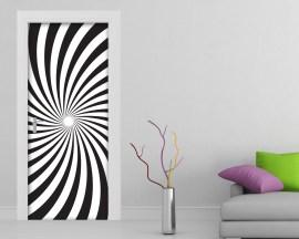 Adesivo per porte-illusione ottica