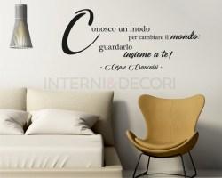 Ecco l'amore che cos'é-Cesare Cremonini-Adesivo murale