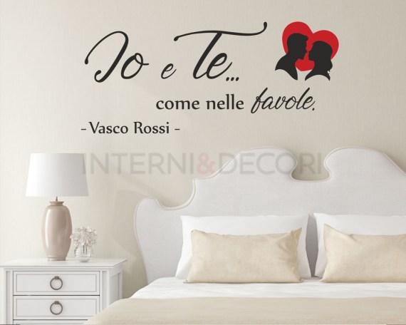 Vasco Rossi-come nelle favole 2-adesivo murale