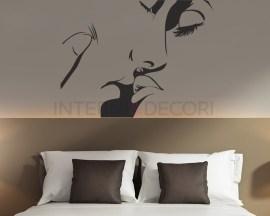 Adesivo murale-passion-adesivo da parete bacio