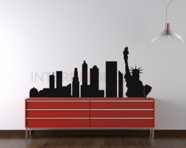 adesivo murale città-new york