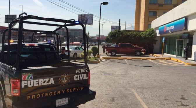 AUTORIDADES INVESTIGAN EL CASO DEL ASALTO