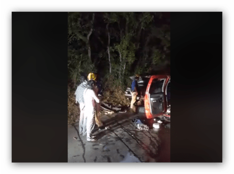 ACCIDENTE EN CARRETERA AL FRAILE