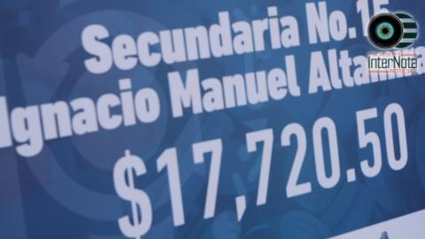 ENTREGA DE PREMIOS A ESCUELAS QUE PARTICIPARON EN RECICLAJE