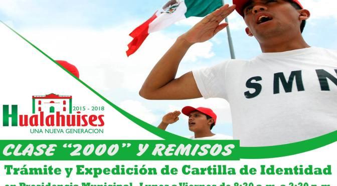 INICIAN TRAMITES DE CARTILLA DE IDENTIDAD