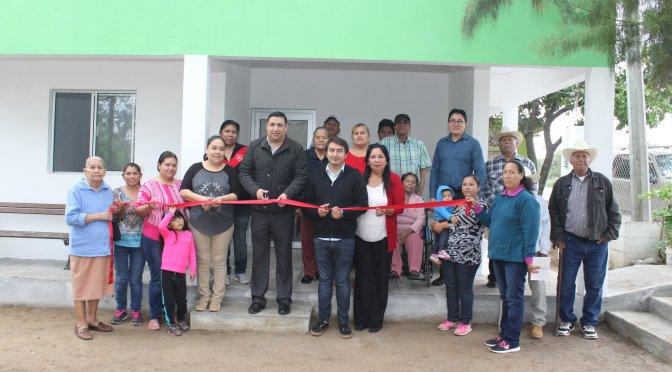 INAUGURAN CENTRO DE SALUD EN CINCO SEÑORES.