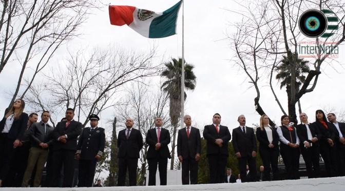 CONMEMORAN EL 101 ANIVERSARIO DE LA PROMULGACIÓN DE LA CONSTITUCIÓN POLÍTICA MEXICANA.