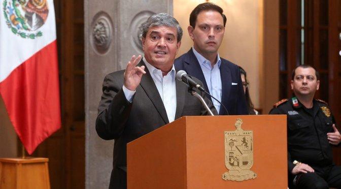 DESARMA ESTADO A POLICÍA DE CADEREYTA
