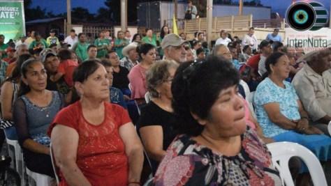 ERNESTO QUINTANILLLA CANDIDATO PARA LA ALCALDIA POR LA COALICION PV-PRI RELIZA PRE CIERRE EN EL EJIDO PALMITOS EN CADEREYTA JIMENEZ N.L.